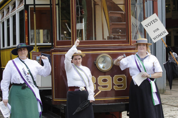 Edwardian Event Crich Tramway Village 2018
