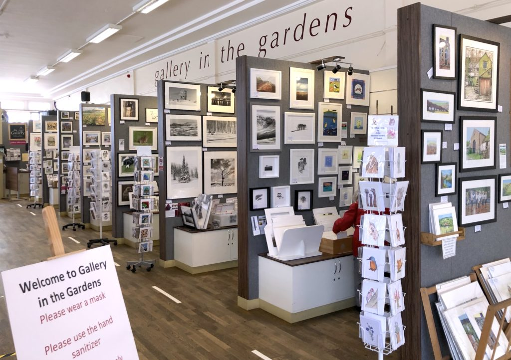 Gallery in the Gardens reopens