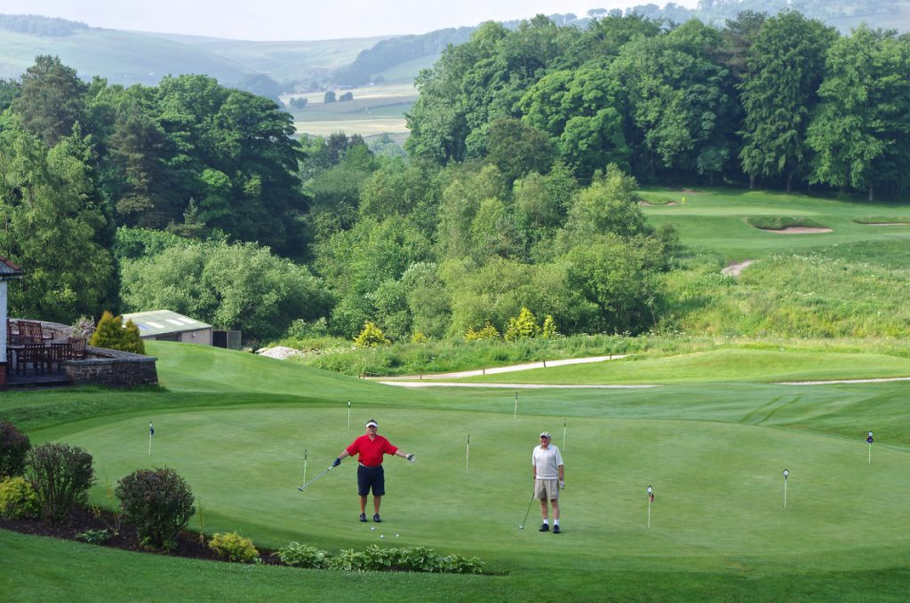 Mackenzie trail at Cavendish Golf Club in Buxton