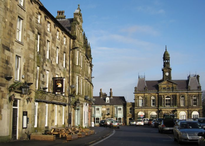 Buxton Market Place & Town Hall