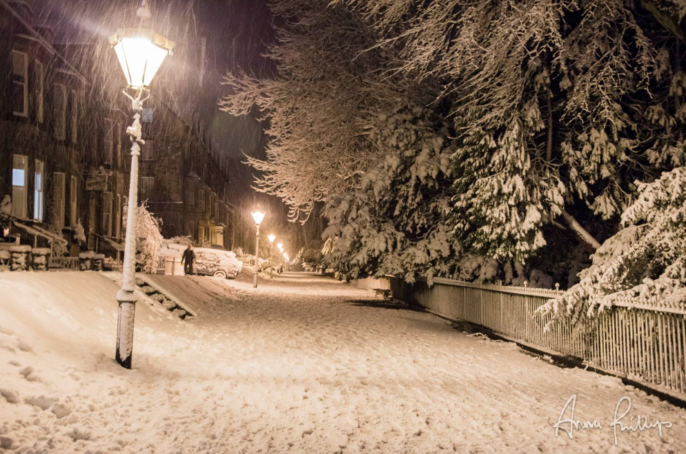 Broadwalk Buxton Snow