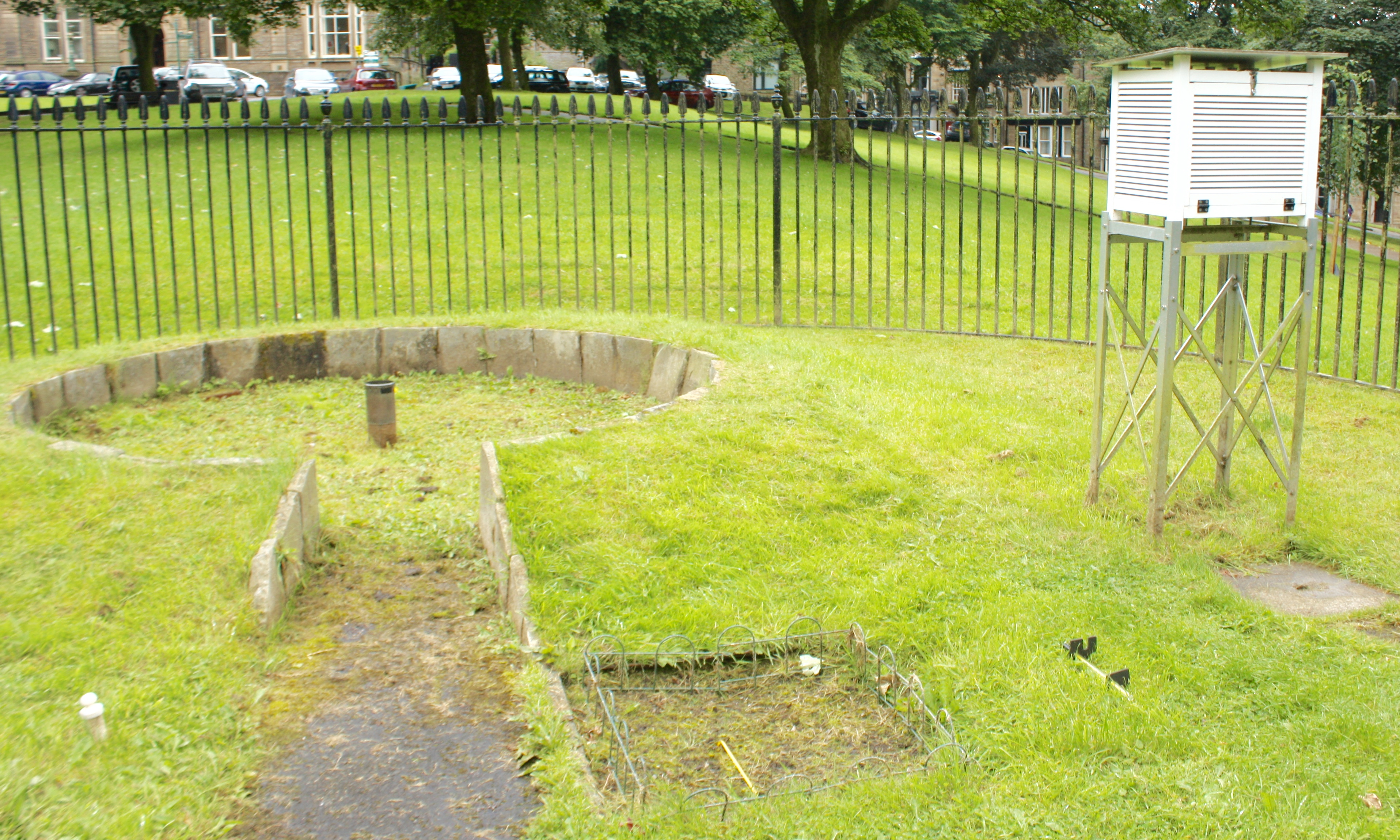 buxton climatological station dating back more than 150 years is