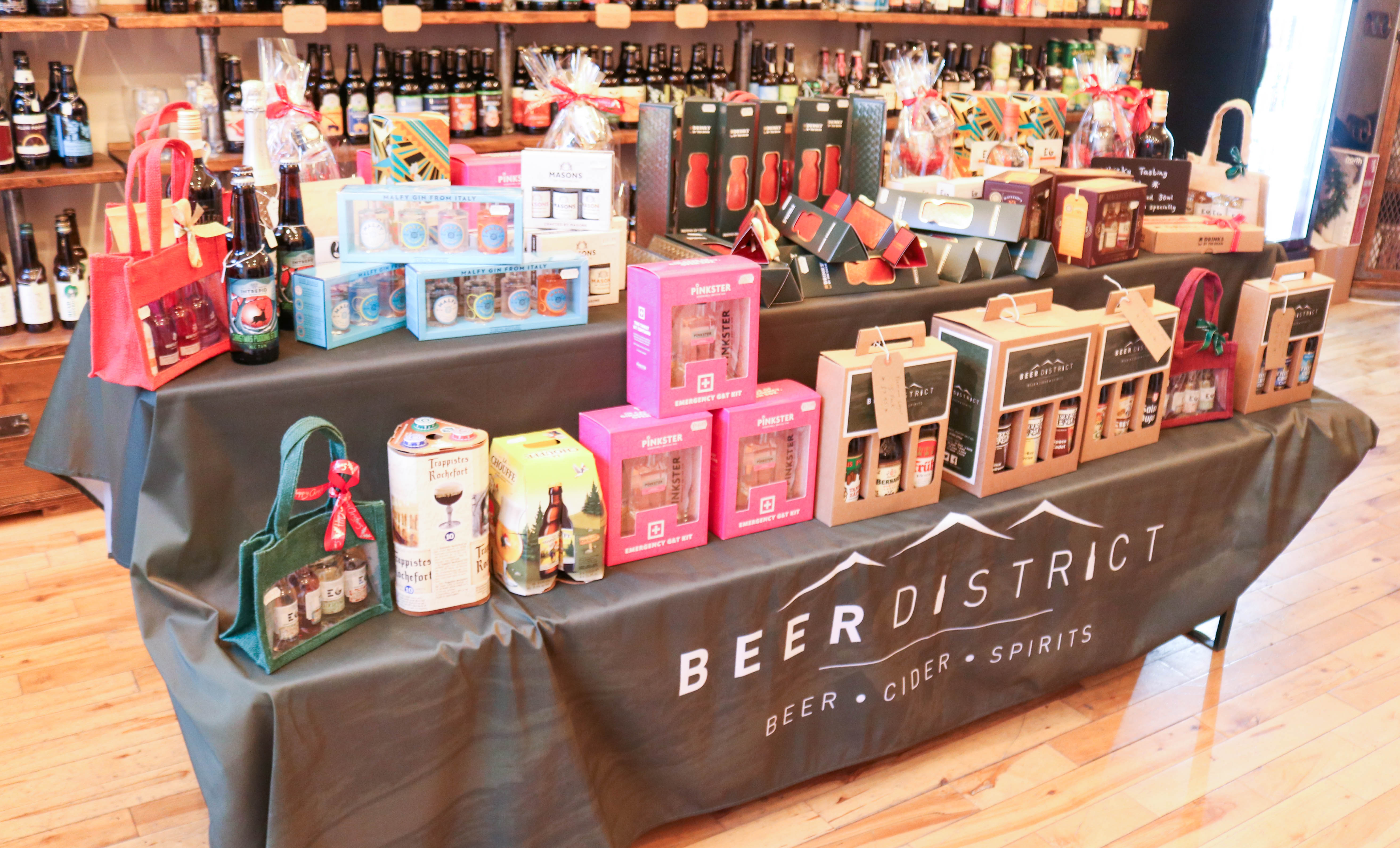 Beer District Bespoke Hampers, Stylish Stocking Fillers
