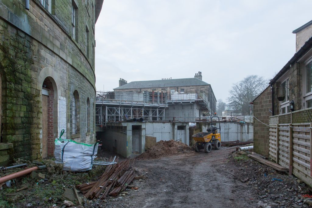 Back of the Crescent, Buxton