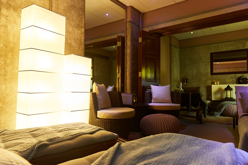 Relaxation room at Devonshire Spa, Buxton