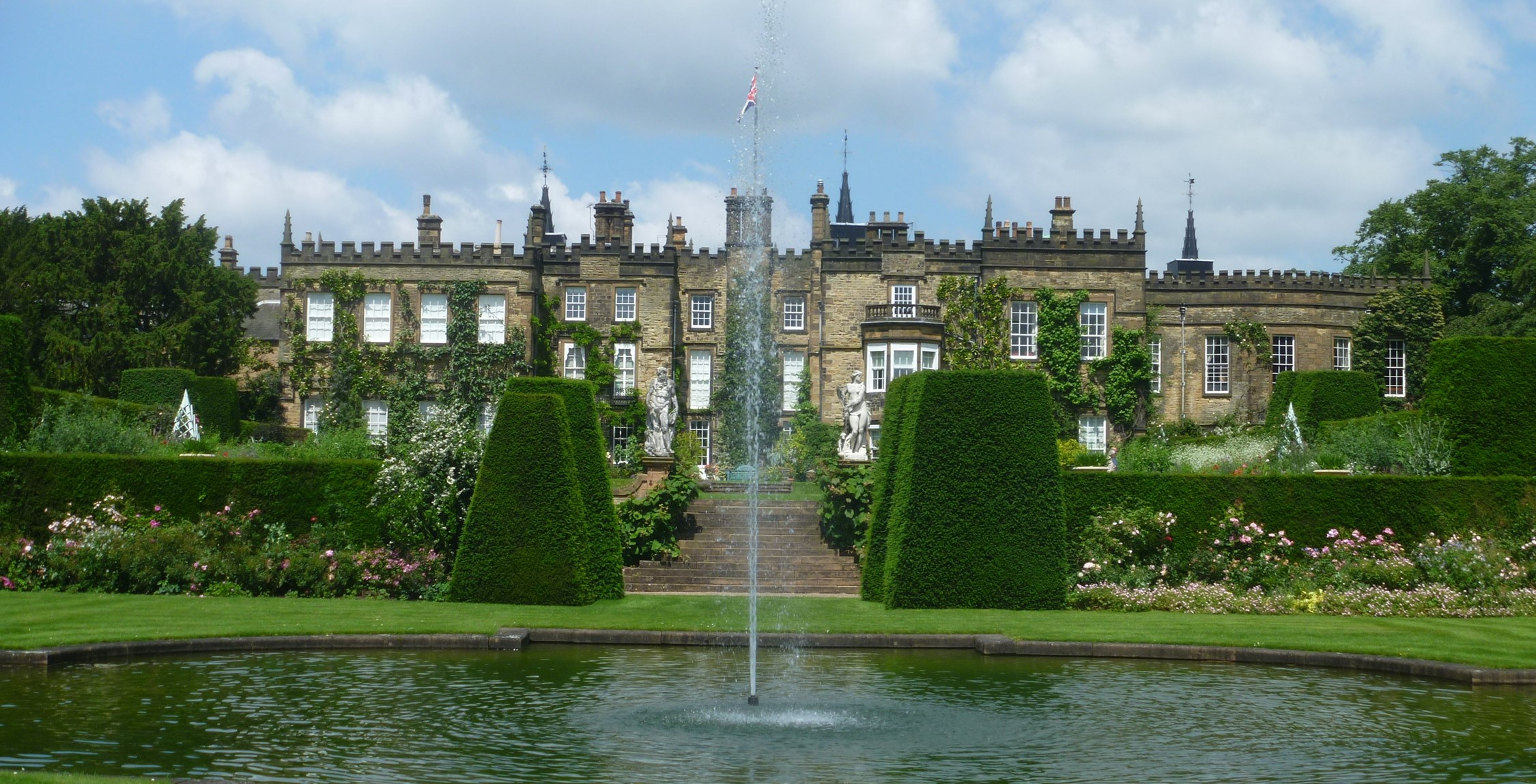 Stately Home Gardens