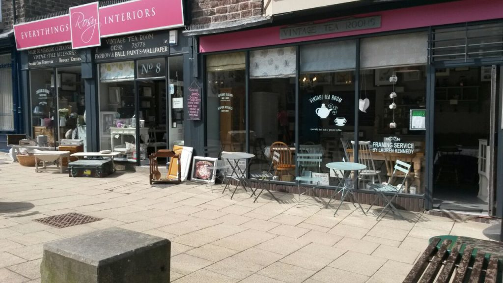 Independent shops in Buxton
