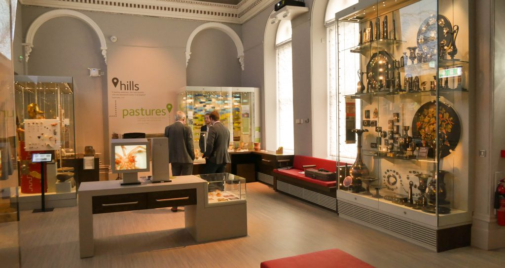 Buxton Museum officially opened by Duke of Devonshire