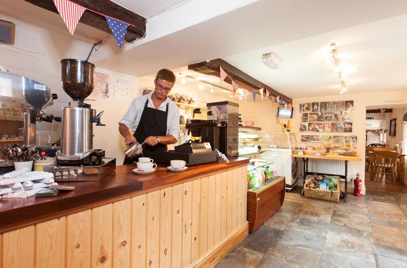 Peak District cafe tea room