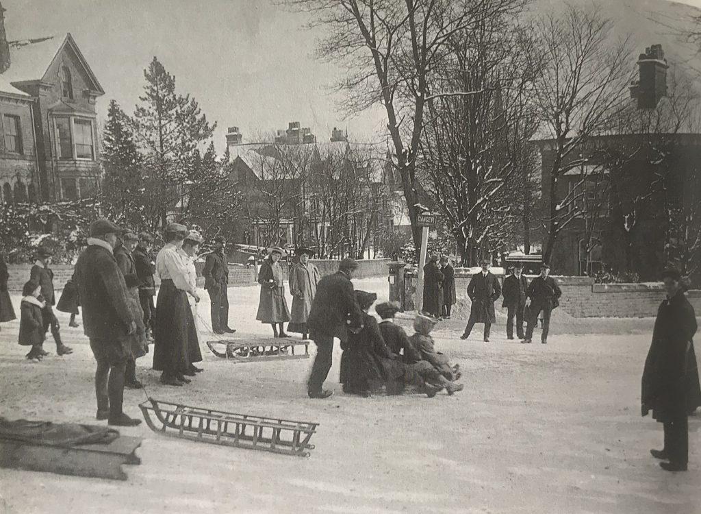 Buxton winter vintage photos