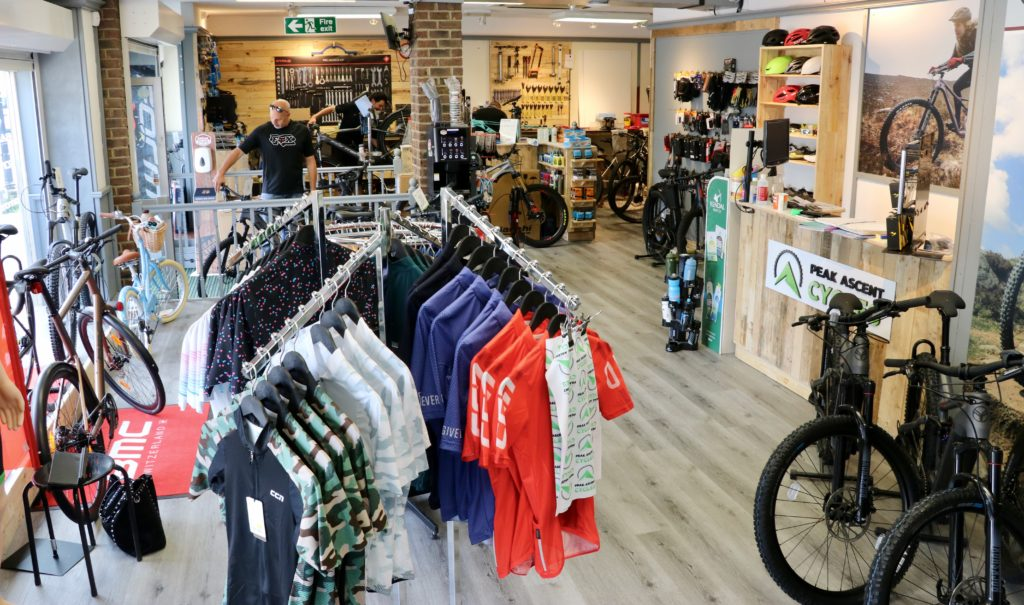 Peak Ascent Cycles new shop