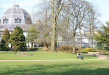 Pavilion Gardens this Bank Holiday weekend