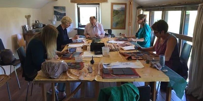 Buxton Museum workshop